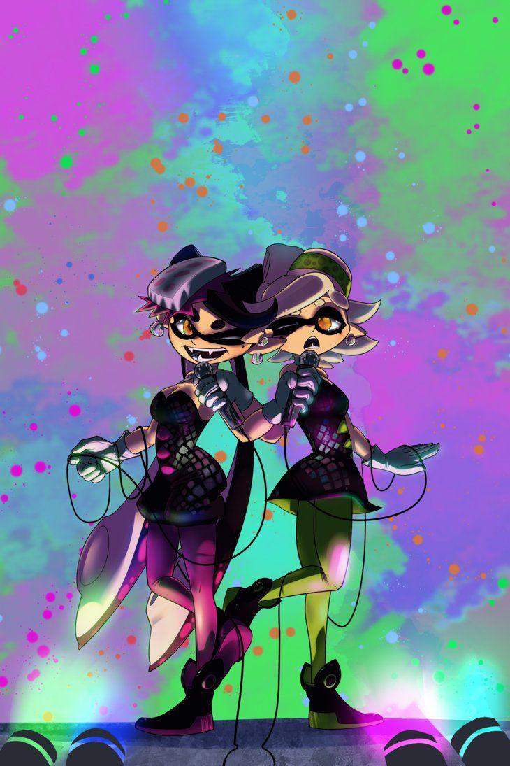Splatoon Callie Marie Stage Singing Performance Squid Idol Star