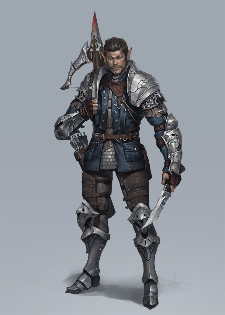 ArtStation - personal work huntsman, Seok Jeon | RPG ...