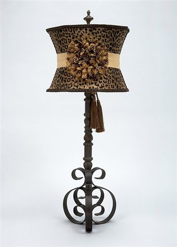 Gold And Black Cheetah Shade Accessorize Animal