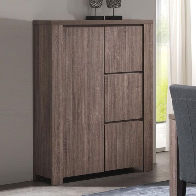 Buffet haut couleur bois moderne LIMBO Home decor Pinterest