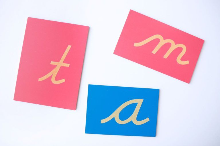 letras-de-lija-montessori-2 | Materiales montessori, Aprendo a leer