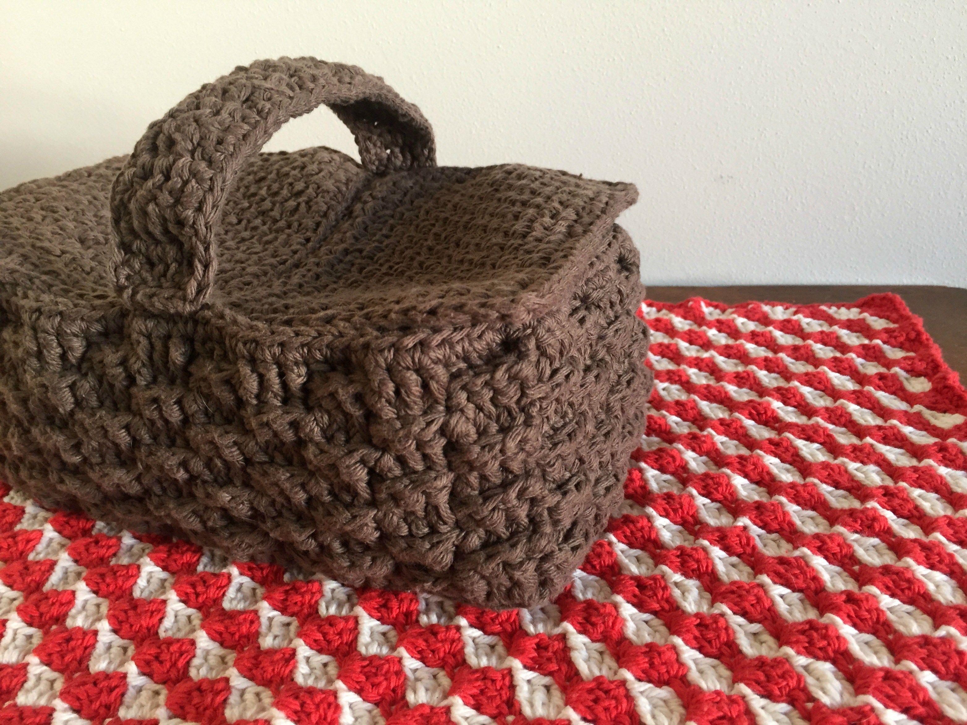 Picnic Time Basket free crochet pattern | amigurumi | Pinterest ...