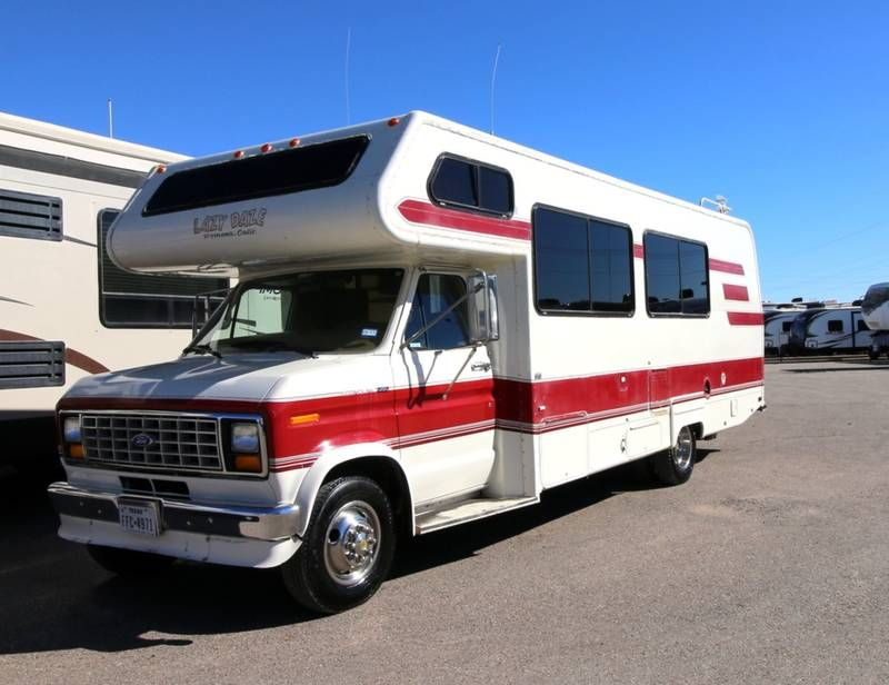 1989 Lazy Daze M26 For Sale Lubbock Tx Rvt Com Classifieds Rvs For Sale Class B Camper Van Used Rvs For Sale