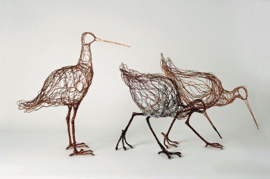 Los pájaros de alambre de Celia Smith | ANIMALIA | Pinterest | Draht ...