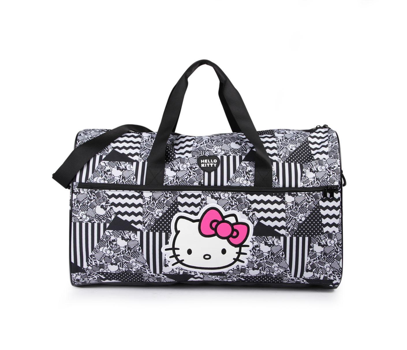 Hello Kitty Overnight Bag: Monotone Collection