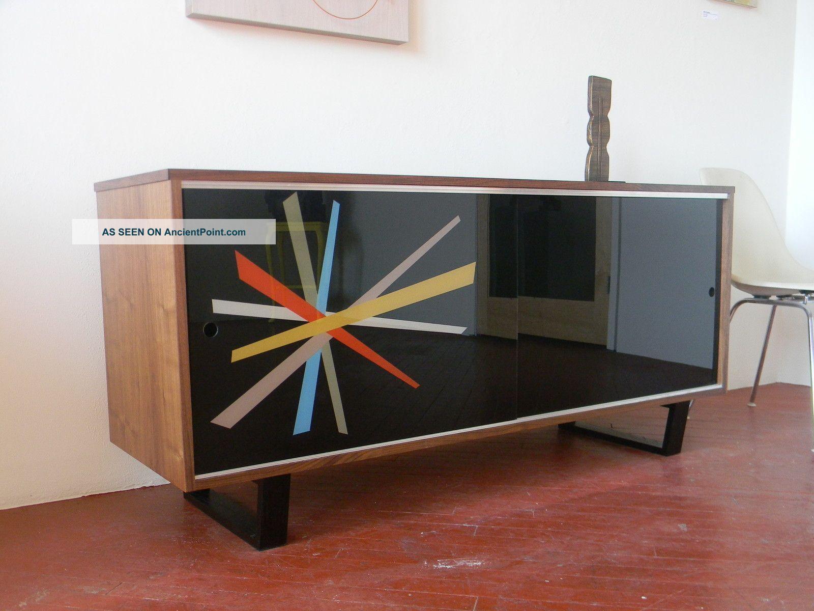 luxury mid century modern credenza storage unit design with  - luxury mid century modern credenza storage unit design with