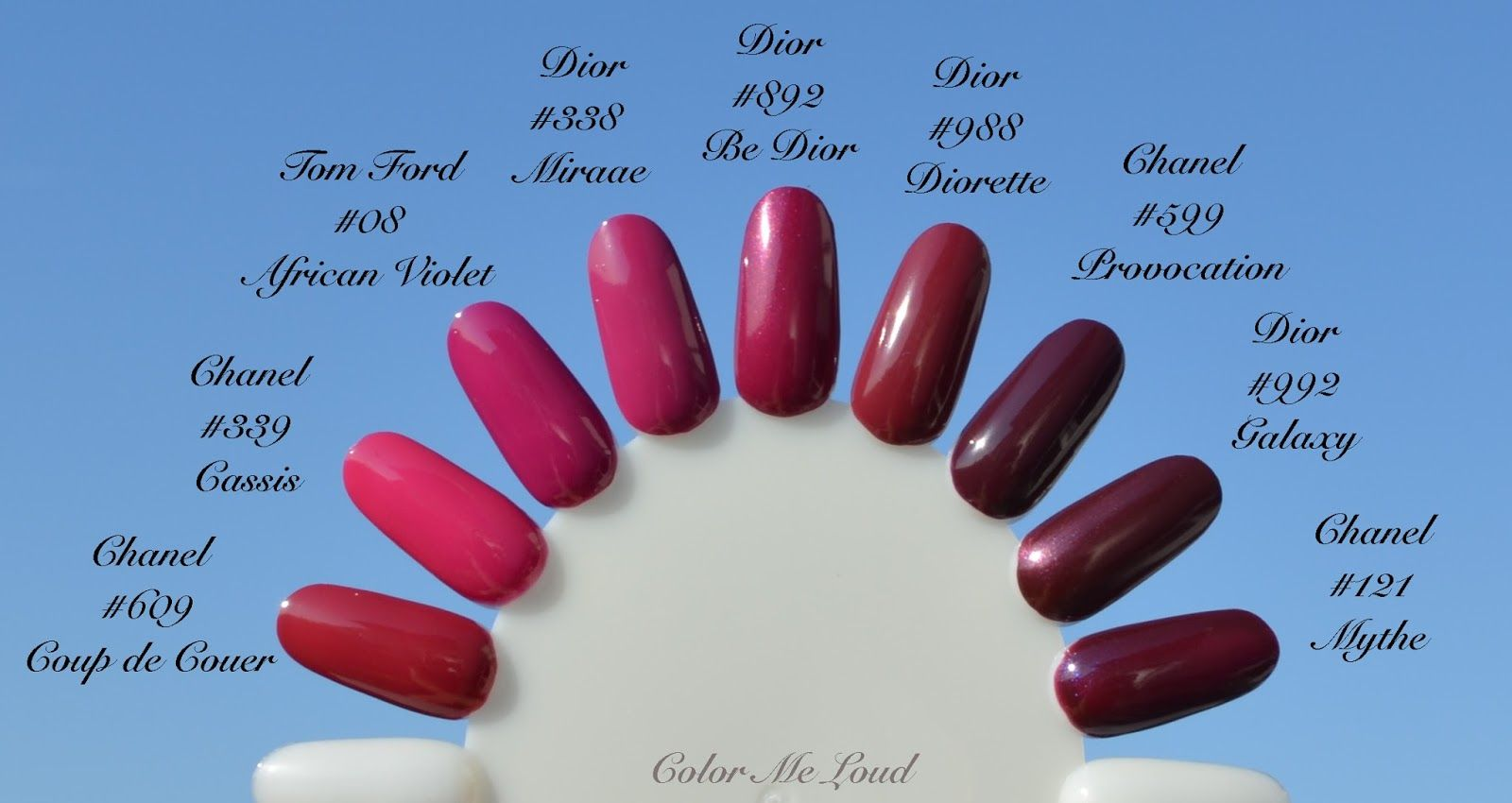 Dior Vernis #558 Tribale, #552 Smile, #868 Wonderful, #892 Be Dior ...