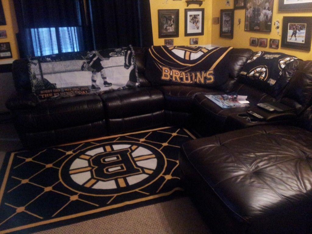 MY FUTURE LIVING ROOM Sports theme basement, Man cave