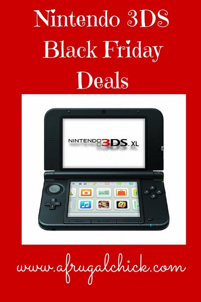 Nintendo 3ds Black Friday Deals Black Friday Nintendo 3ds Black Friday Deals