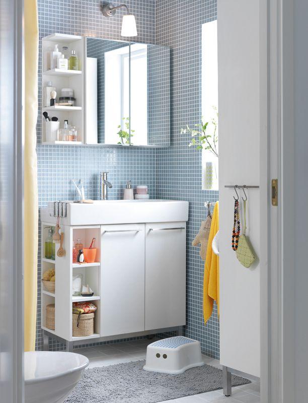 Good use of space. Ikea Lillangen. Mirror cabinet combination, £55 ...