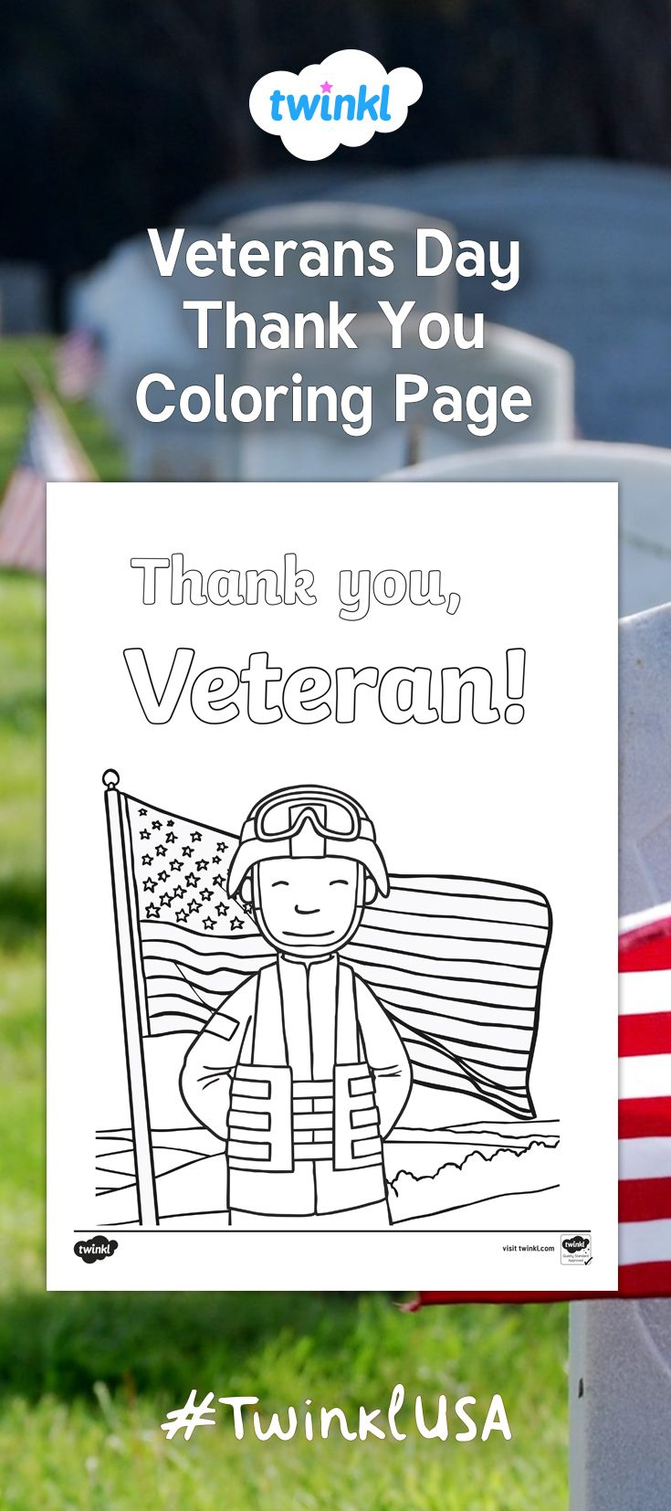 Have your students celebrate Veterans Day with this lovely ...