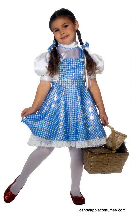 Wizard of Oz Lil Dorothy Child Costume Size 6-8 yrs Medium