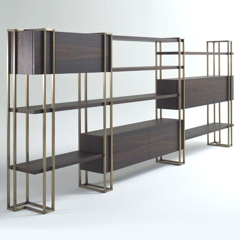 Porta personalità, comfort e distinzione alla tua stanza con la nostra vetrinetta vertal in metallo e vetro. Emmemobili Libreria In Metallo Design Di Mobili Idee Per Decorare La Casa