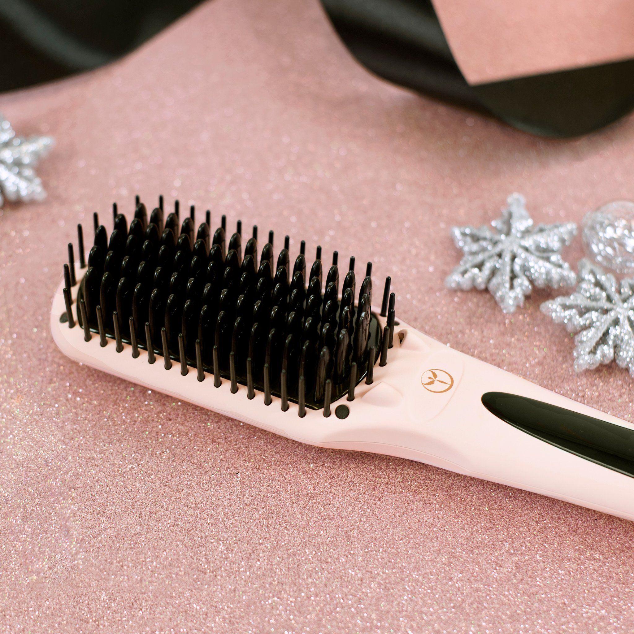 Any le vite Hair brush straightener, Straightner brush