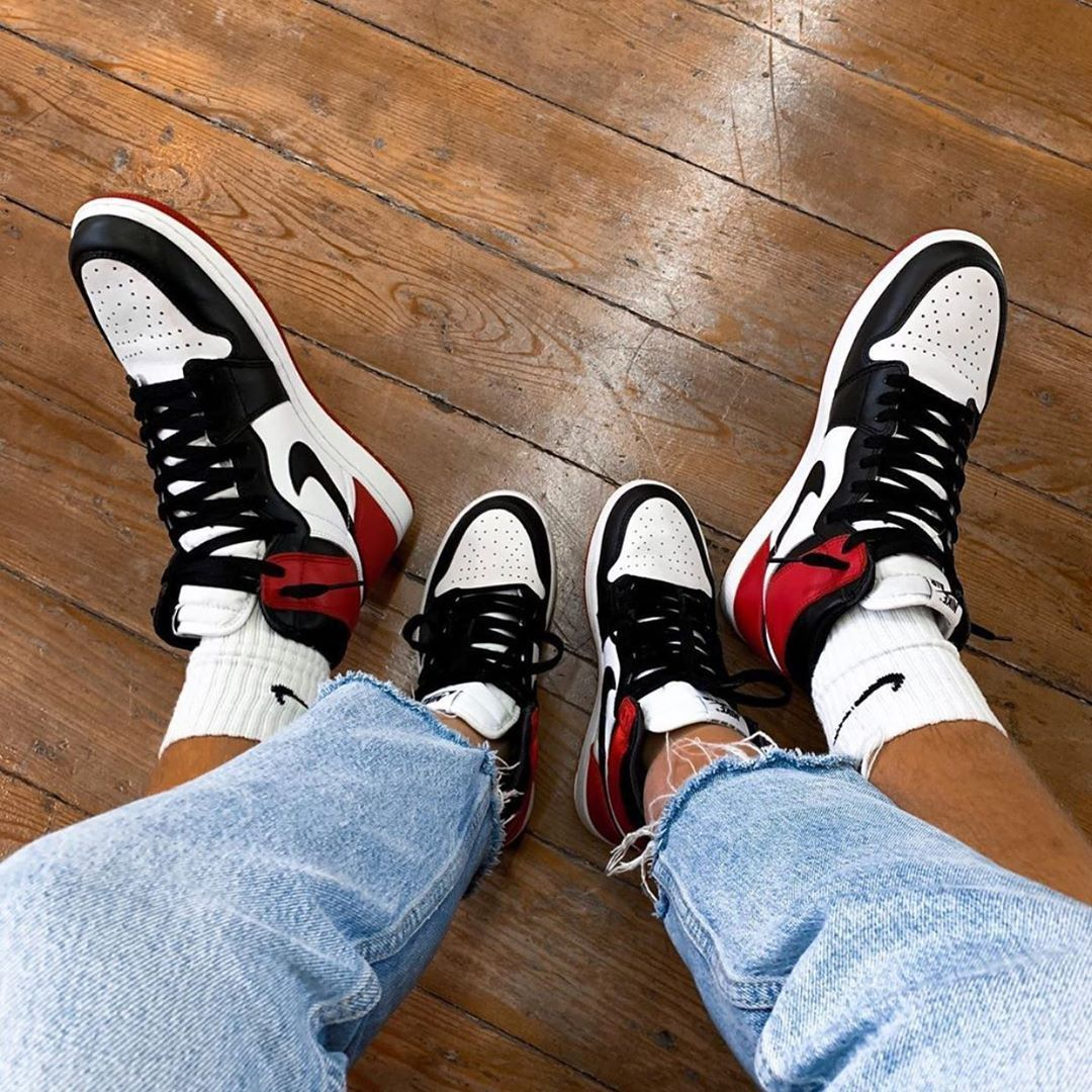 Retro Couple Sneakers : his and hers
