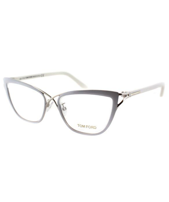 83d75a6f12397 Tom Ford Tom Ford FT 5272 025 Cat Eye Metal Eyeglasses