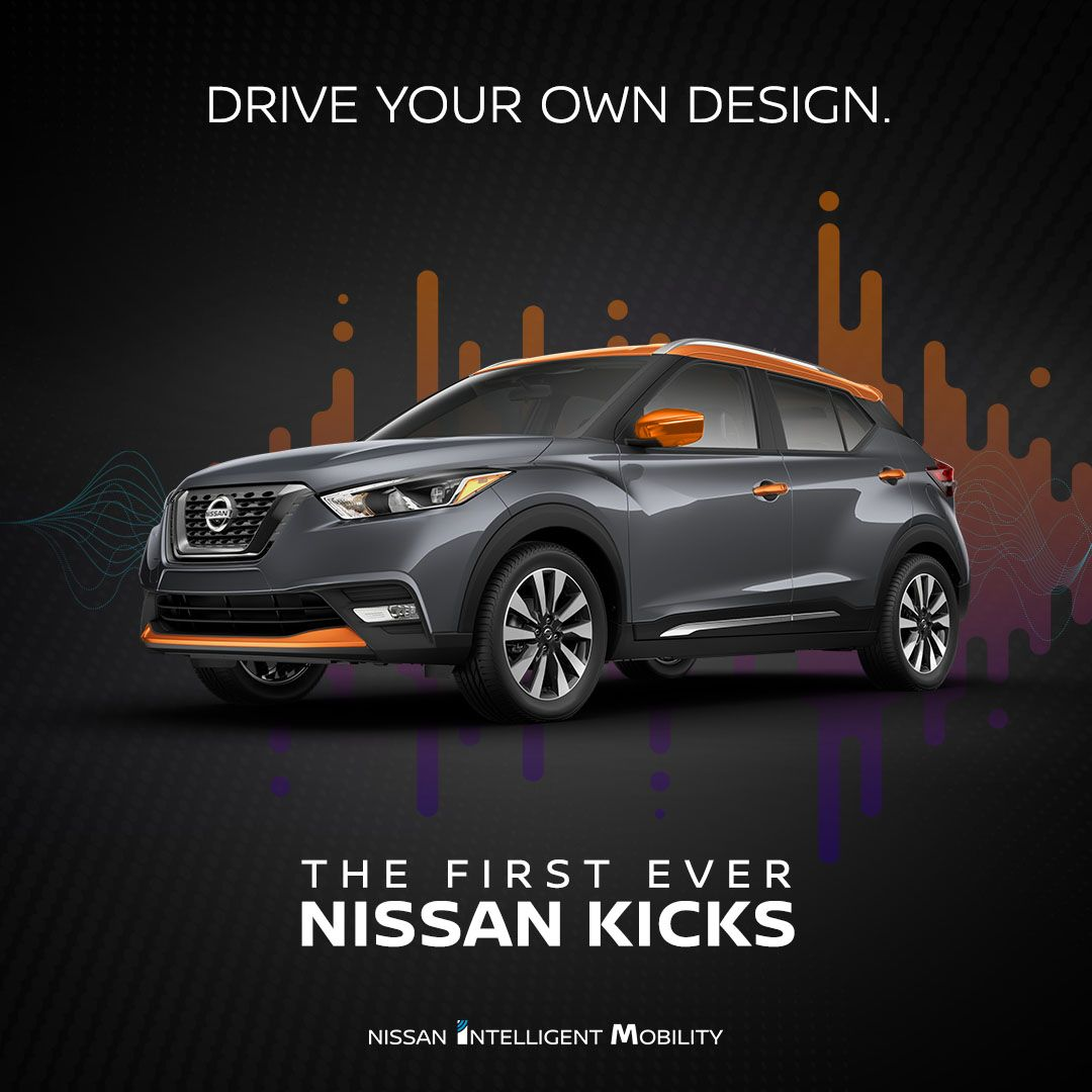 Stay Unique With 4 687 500 000 Design Options Yes You Read That Right Color Studio Accessories For The First Ever Nissan Kicks D Nissan Nissan Cars Kicks