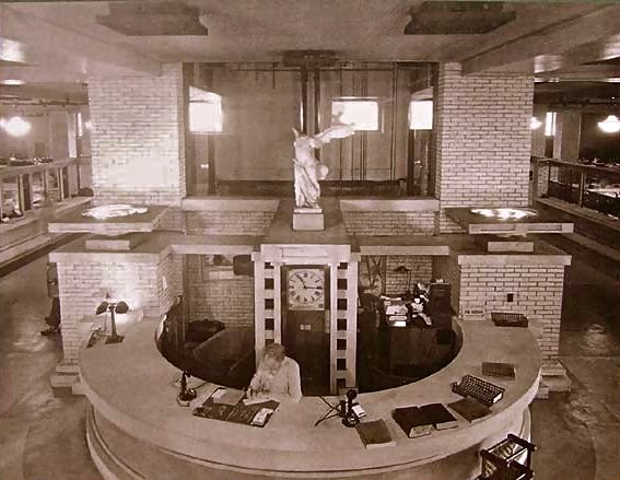 Larkin administration building interior google search - Interior design schools buffalo ny ...
