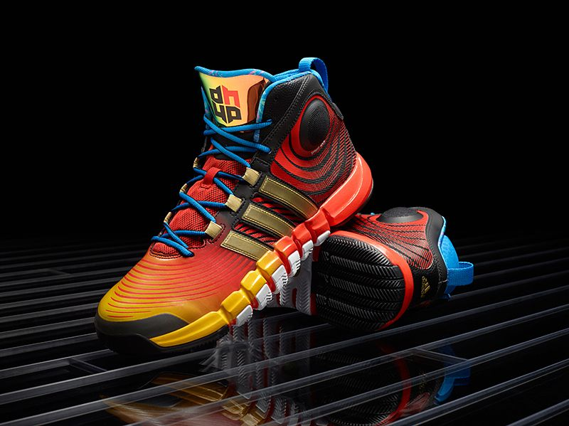newest 14391 e8927 Adidas D Howard 4 might be the coolest shoes Ive ever seen