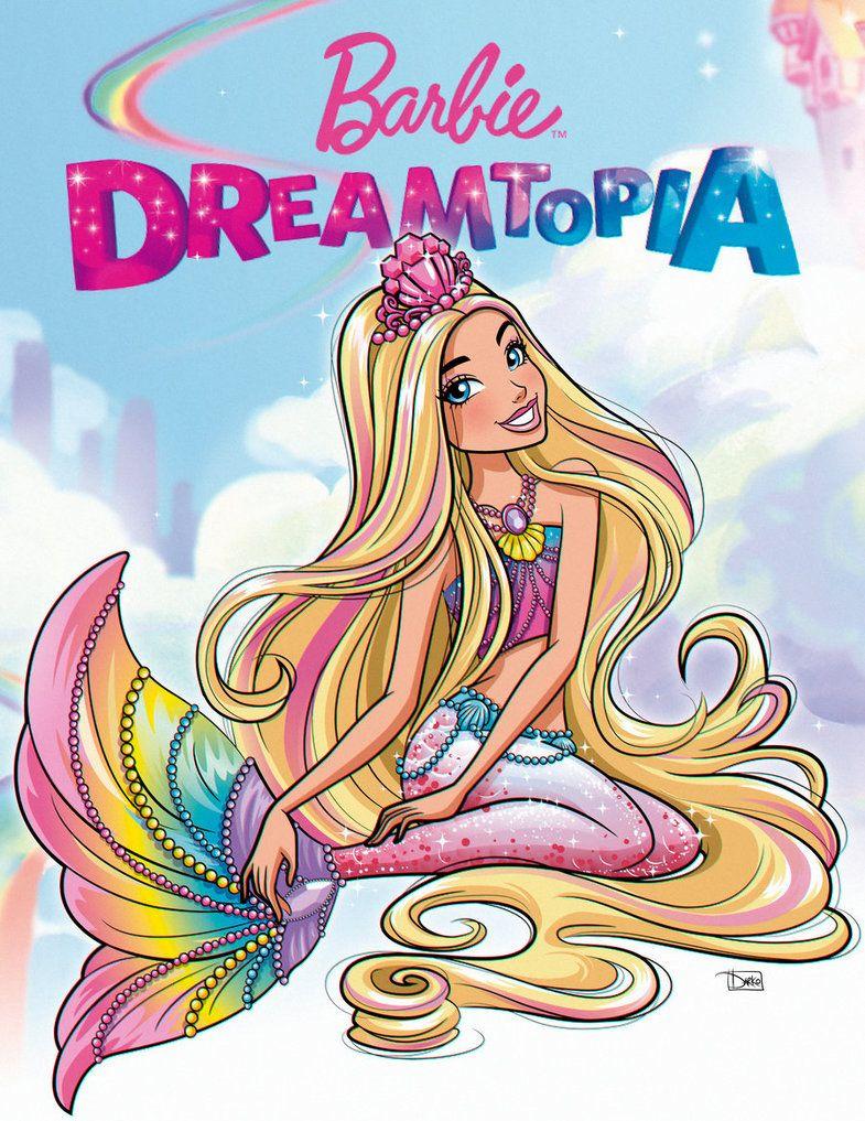Barbie Dreamtopia By Darkodordevic Deviantart Com On Deviantart Barbie Cartoon Barbie Painting Mermaid Barbie