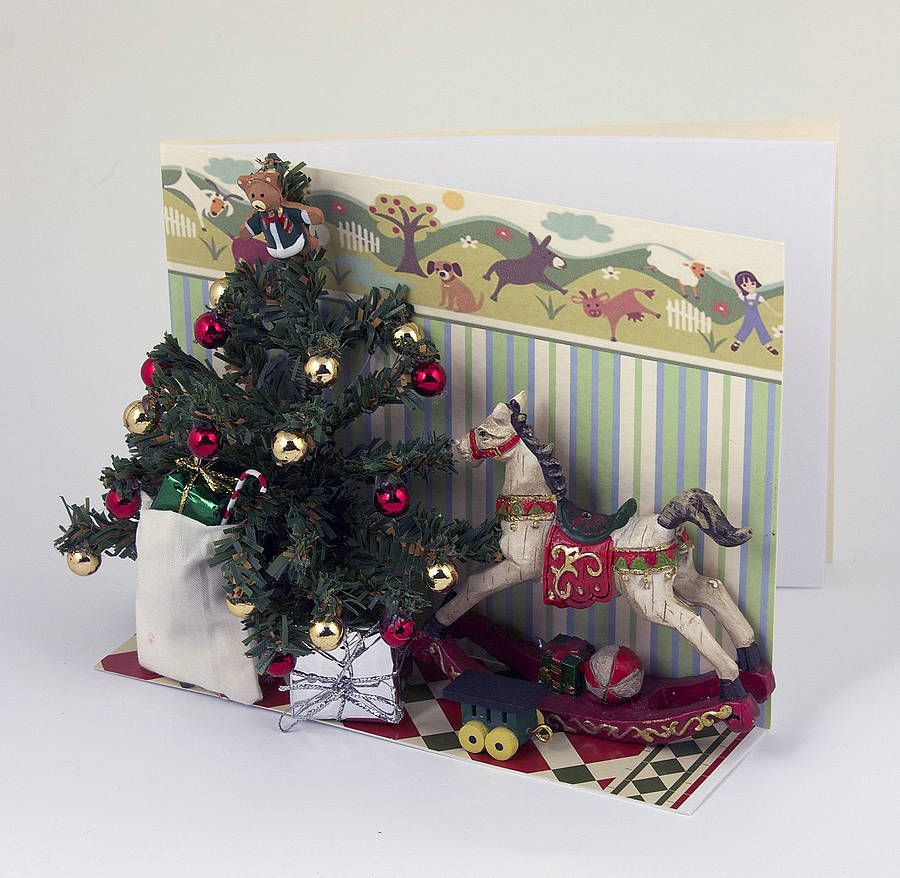 Christ Mouse Personalised Card   Rocking horses, Products and ...