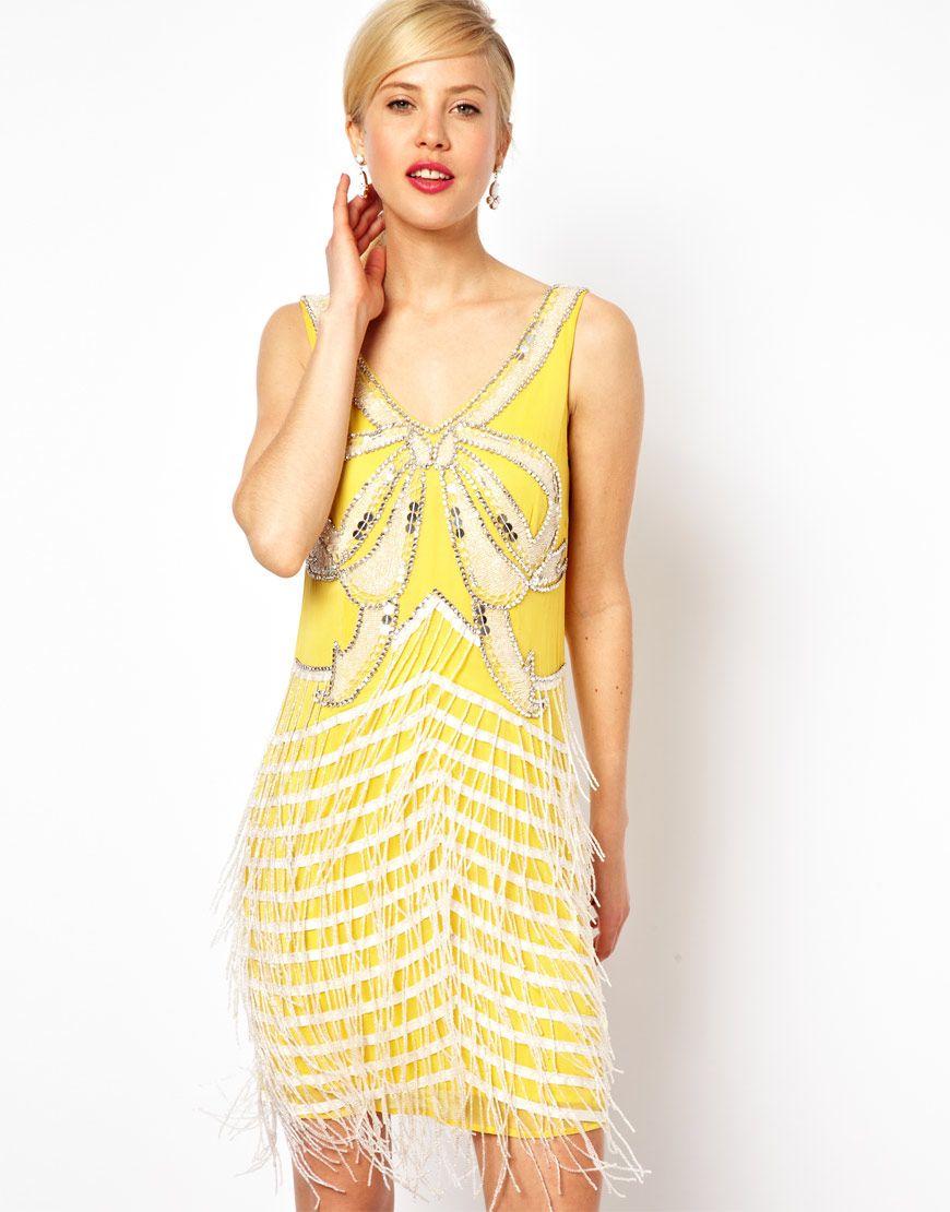 Yellow bow fringe style pinterest
