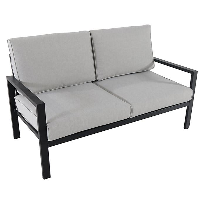 Sunfun Loungemobel Set Judith 4 Tlg Metall Anthrazit Bauhaus Lounge Mobel Lounge Mobel