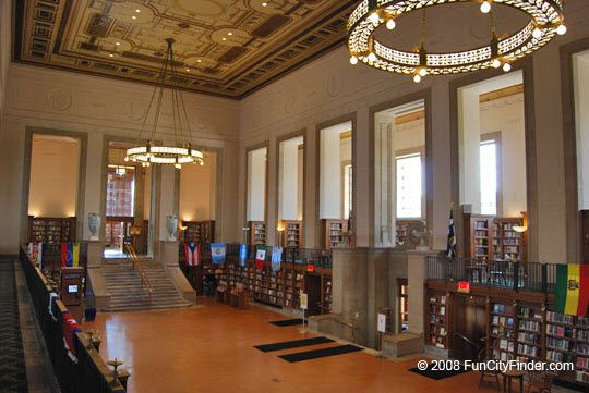 Central Library In Downtown Indianapolis Indiana Central