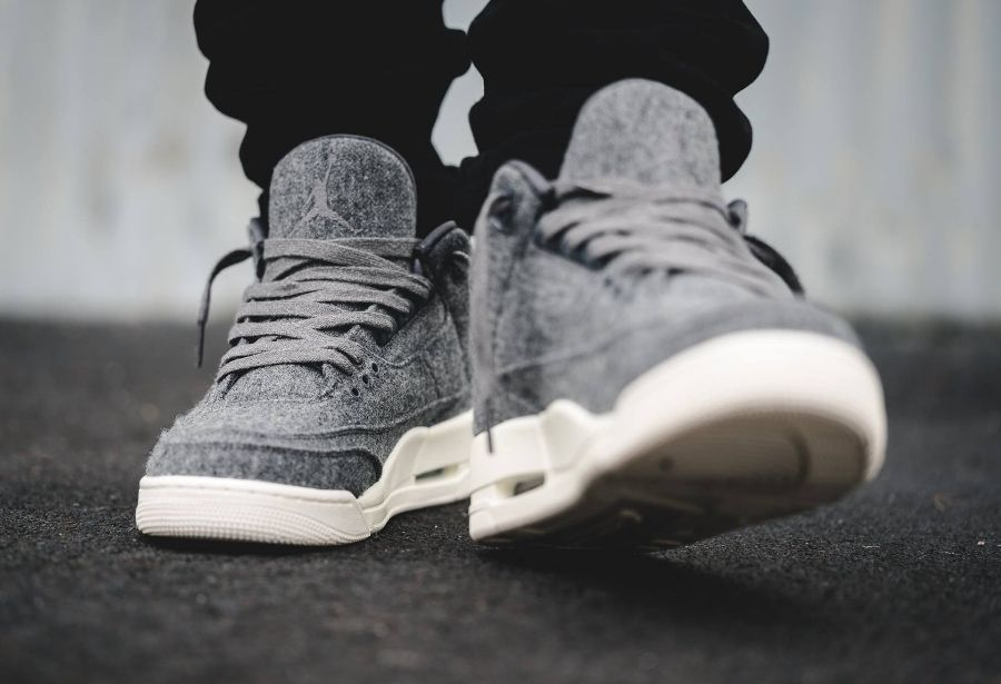 image basket nike air jordan 3 retro wool dark grey laine