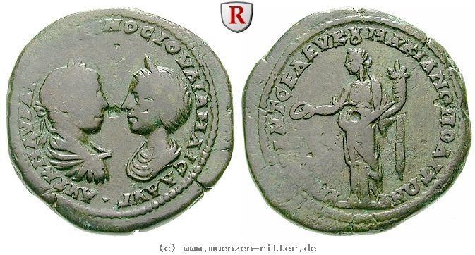 RITTER Moesia Inferior, Markianopolis, Elagabal, Julia Maesa, Homonoia #coins