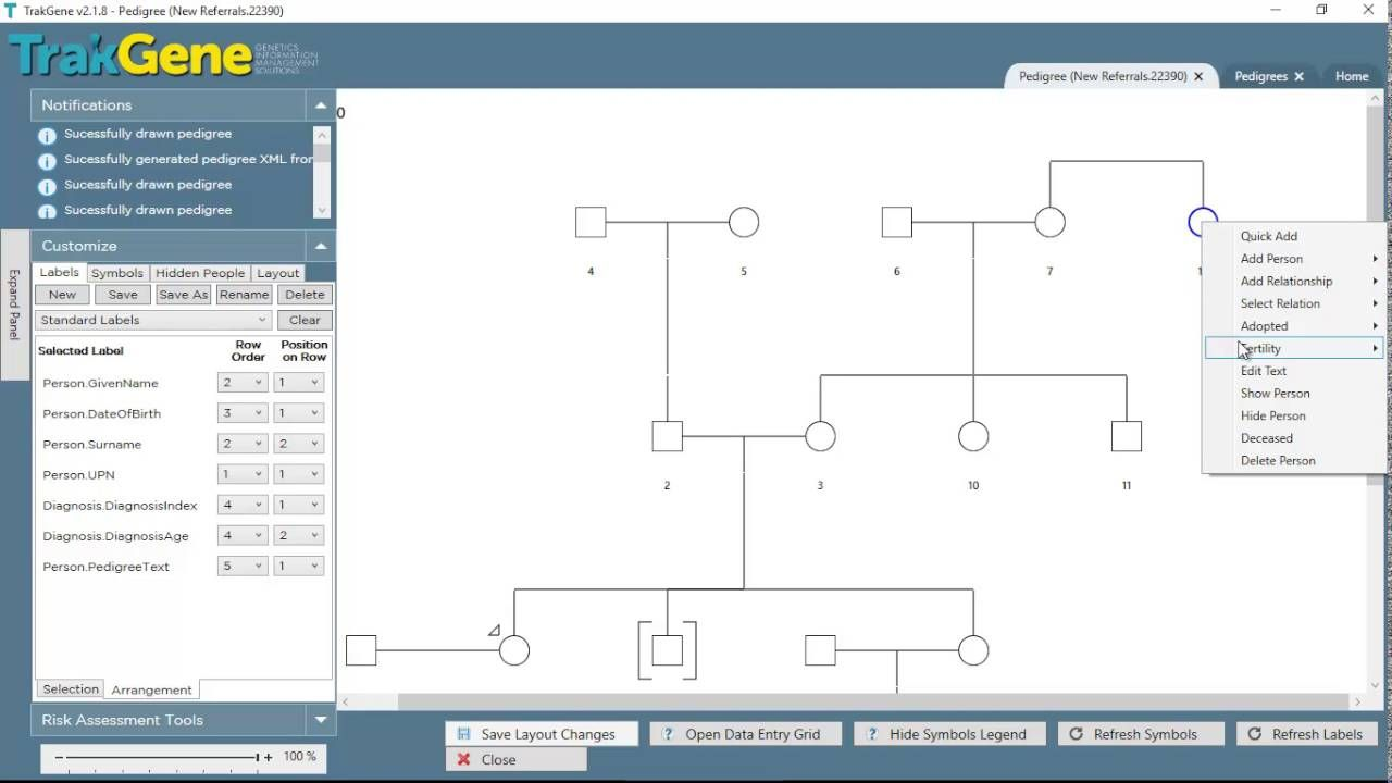 With Our Pedigree Chart Creator Software You Can Create A Free