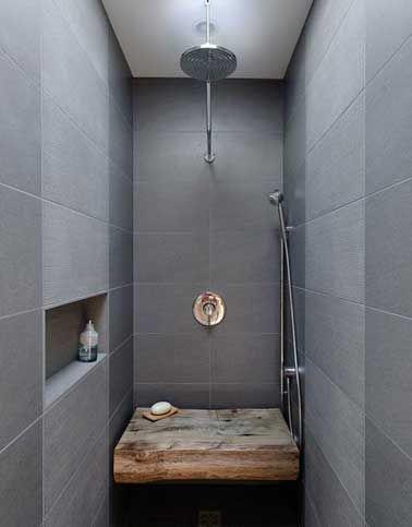 8 douches l 39 italienne tendance chic et zen modern bathroom modern an - Douche italienne ouverte ...
