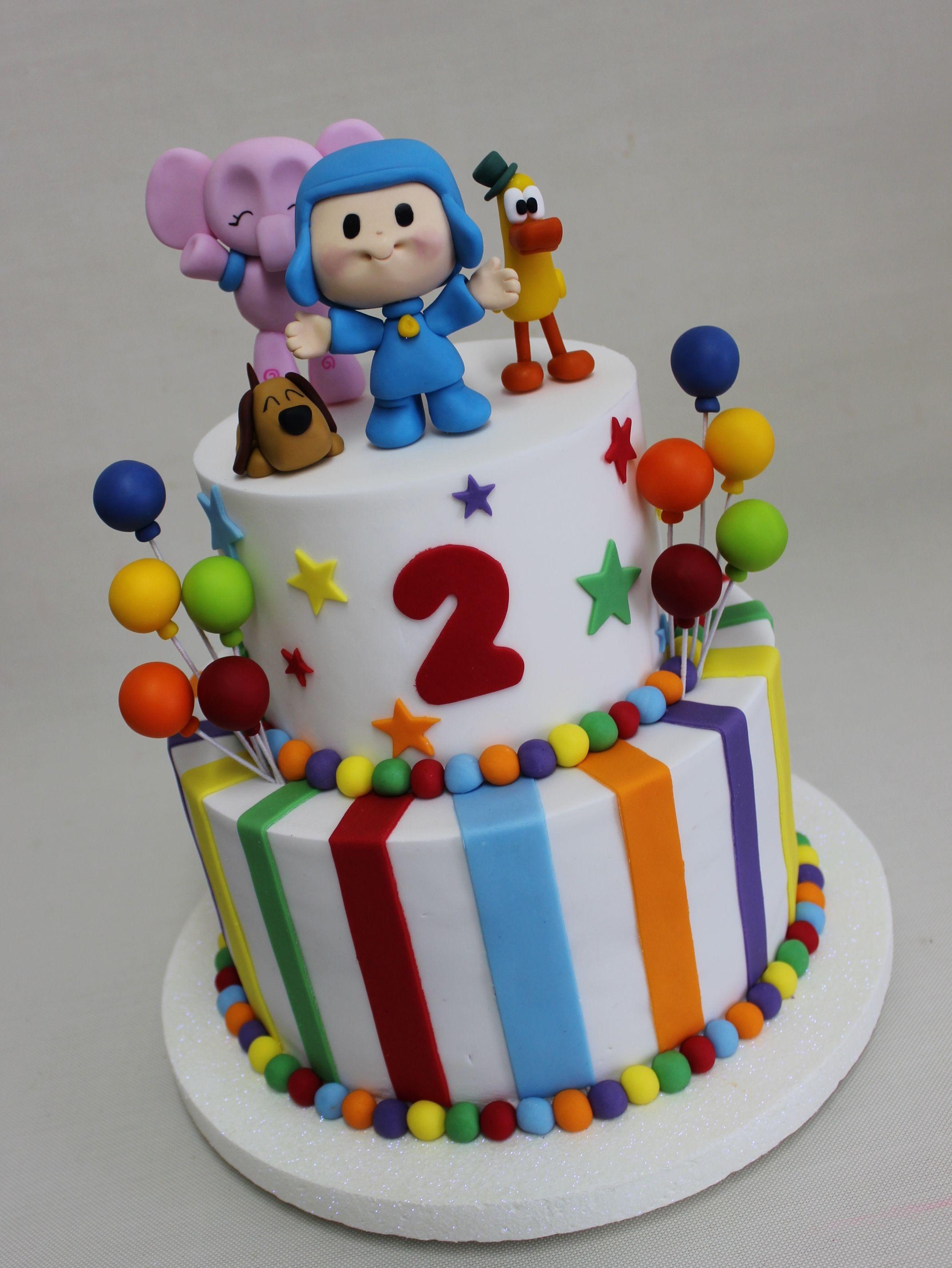 Pocoyo Birthday Cake Violeta Glace 2nd Bday Pinterest Pocoyo