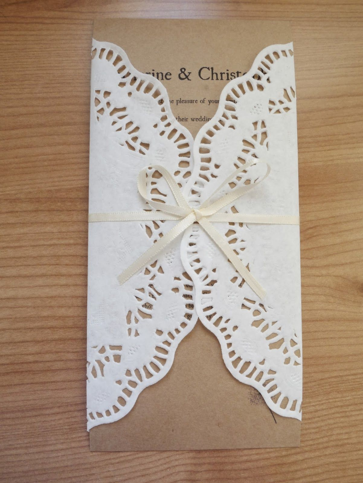 Invitations ideas for glittering diy rustic wedding invitation ideas