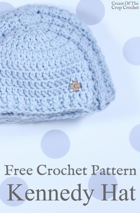 Kennedy Hat Crochet Pattern   Cream Of The Crop Crochet   Crochet ...