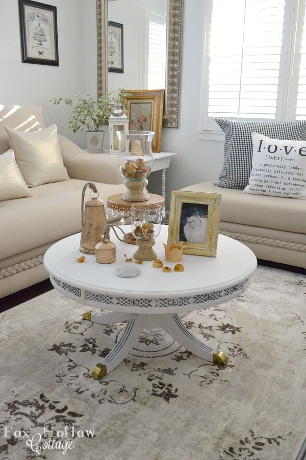 Decorating with neutrals a cottage living room makeover