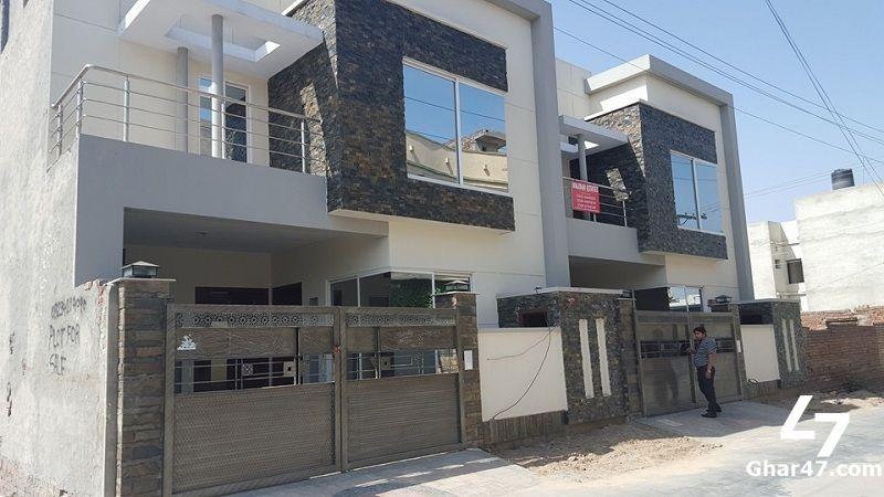 marla house for sale muslim town faisalabad also exterior rh pinterest