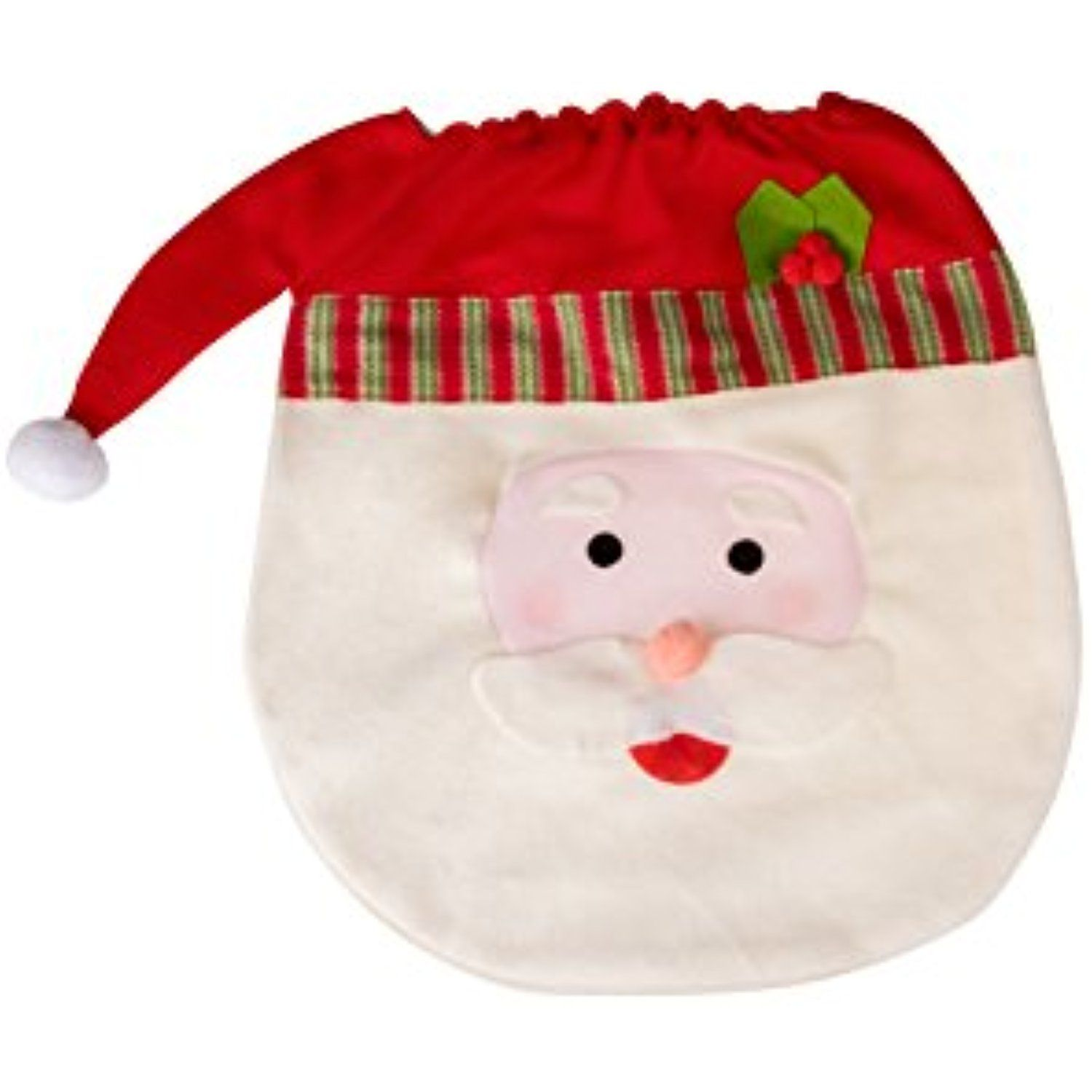 Santa Claus Christmas Themed Toilet Seat Lid Cover