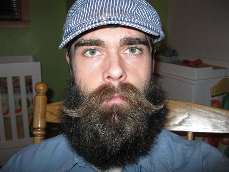 Handlebar Mustache With Beard