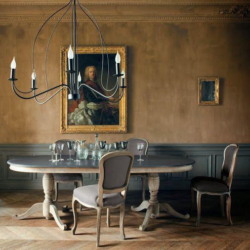 Chaise Versaille Style Louis XV Decodesign Décoration Salle à - Salle a manger louis xv pour idees de deco de cuisine