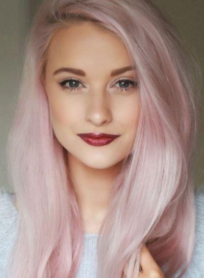 Hair color for pink skin and hazel eyes best hairstyles 2017 pastel pink hairstyle for hazel eyes all dolled up best hair color for hazel eyes and cool toned tan skin urmus Gallery