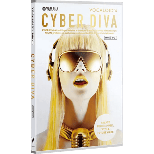 Download CYBER DIVA - Vocaloid Voicebank for FREE