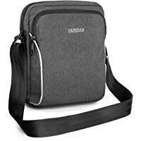 e5816a114f Verran Cross Body Bag for Man - Vintage Messenger Bag Mens - Travel and  Sports