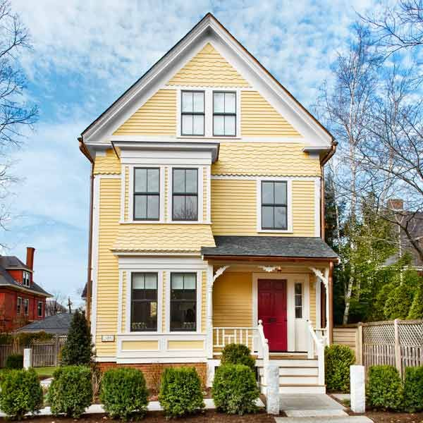 Exterior Paint Ideas For Older Homes: The Cambridge TV House: Updating A Classic Queen Anne