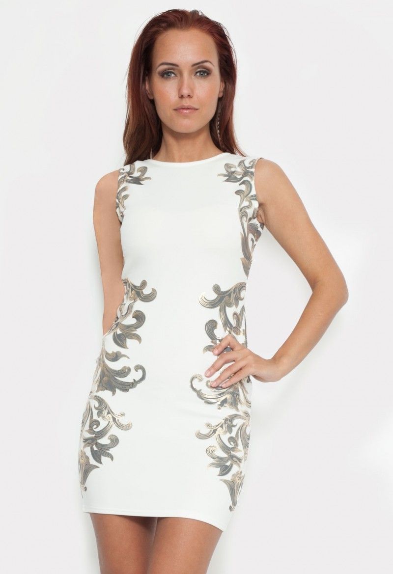 f7f4c8d9259d All White Club Dress