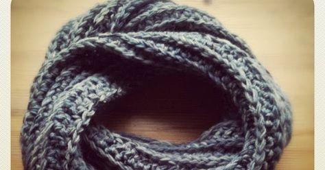 Loop Schal Häkeln Armbänder Pinterest Schal Häkeln Schals Und