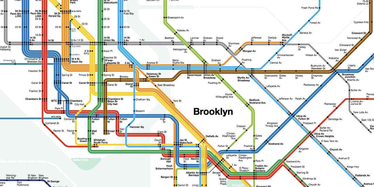 Vignelli Subway Map Current.New York Subway Map Massimo Vignelli Nyc Subway Map New York