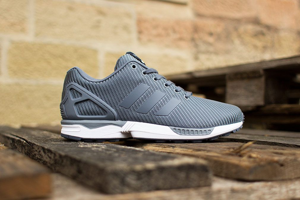 412a6a9380bdf adidas ZX Flux  Ballistic Woven  (Onix Grey) - EU Kicks  Sneaker Magazine
