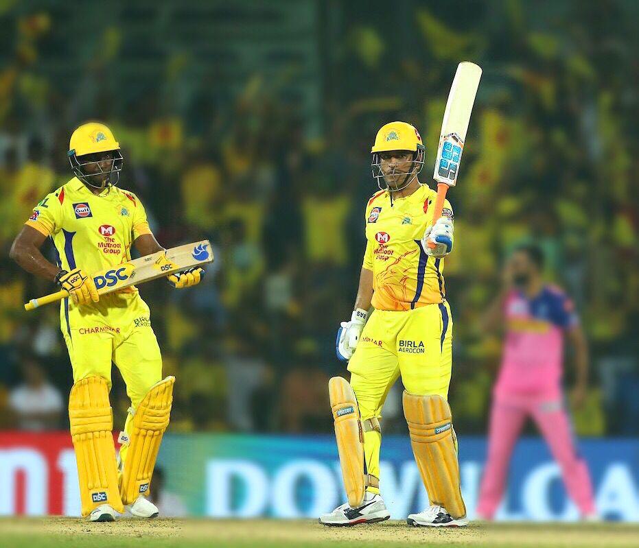 Ipl 2019 Match 12 Csk Vs Rr Live Score Scorecard Results Chennai Super Kings Ipl Royal Challengers Bangalore