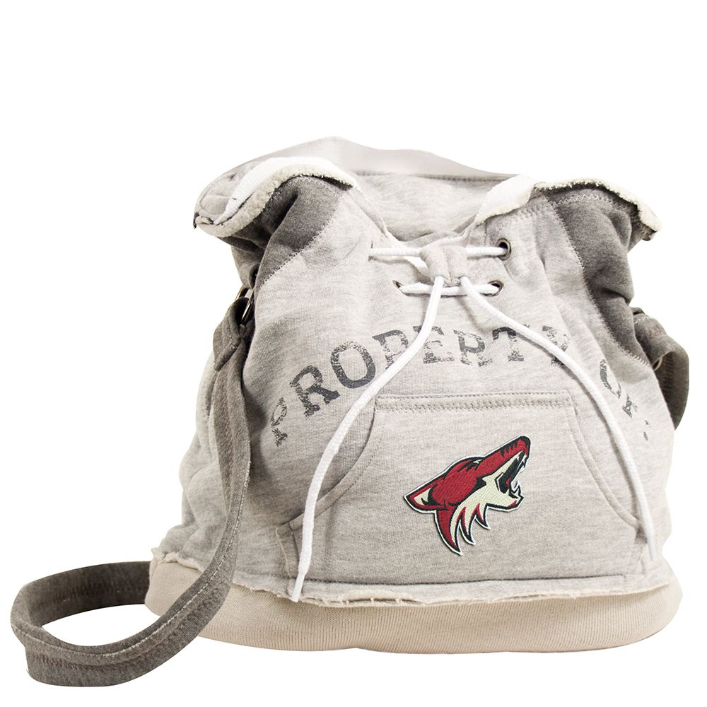 Arizona Coyotes NBA Property Of Hoodie Duffel - TheBuckeyeConnection.com Where REAL FANS shop!